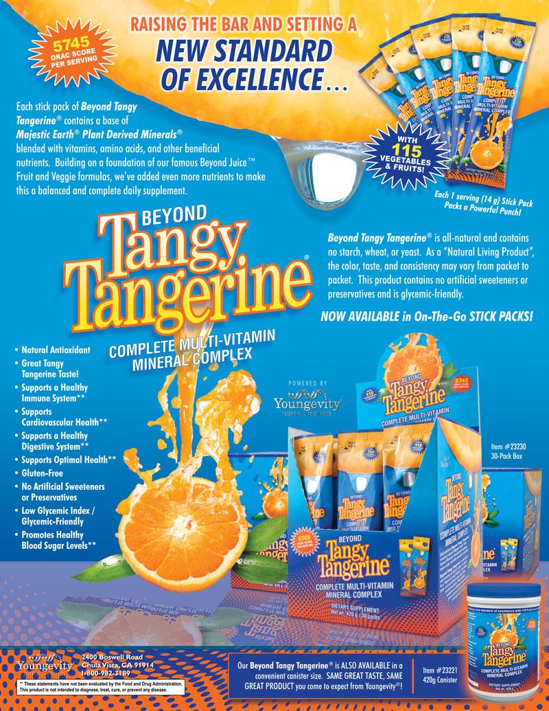 Beyond Tangy Tangerine Flyer