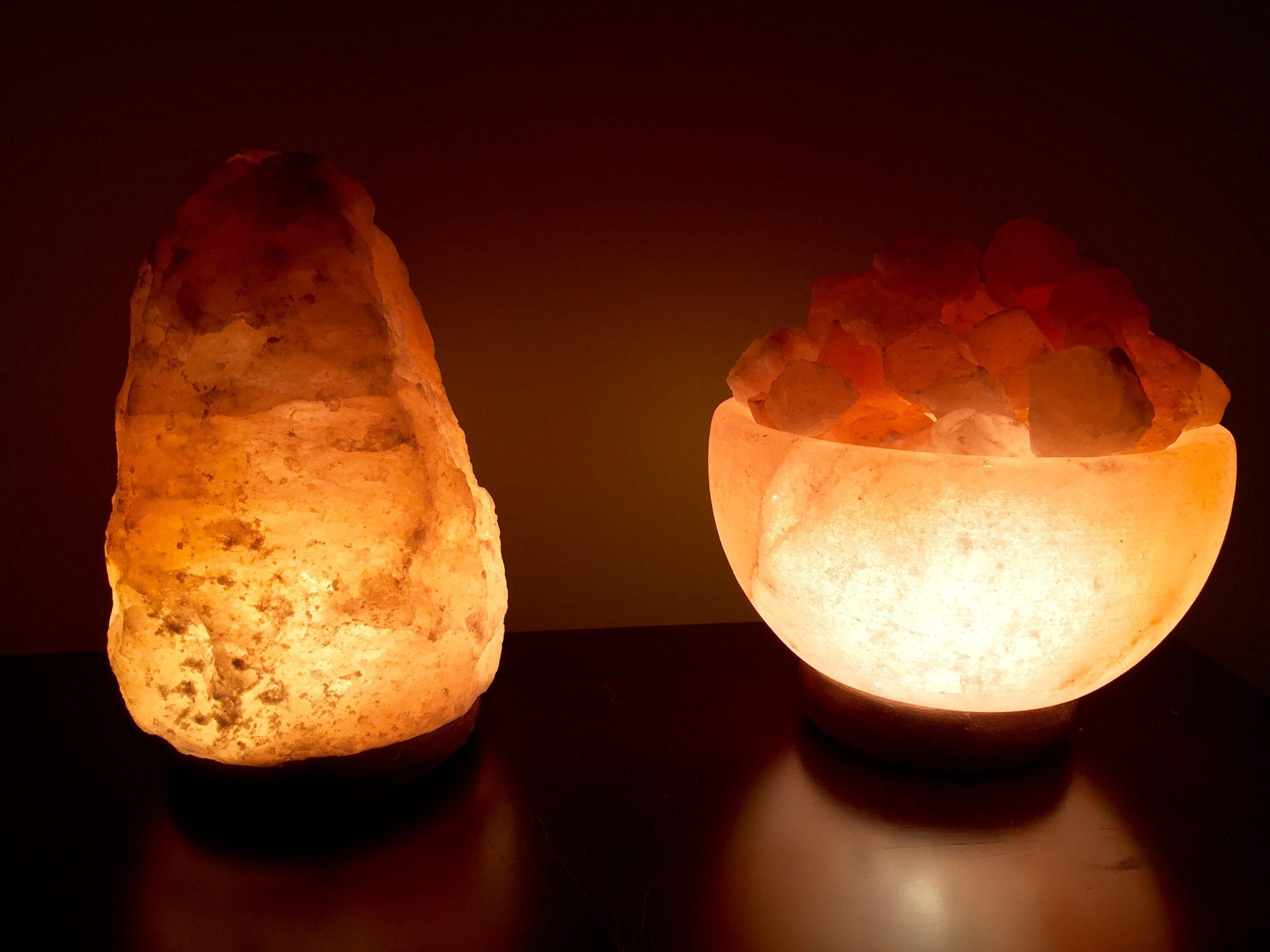 Small Himalayan Salt Lamp, 6-8 lbs in Canada