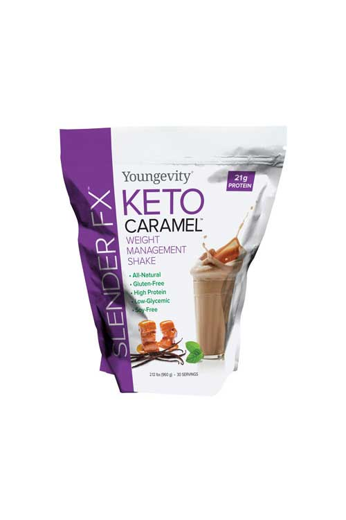 Slender FX™ keto Caramel™ Weight Management Shake - Canada