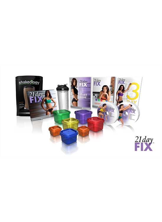 21 Day Fix And Shakeology Challenge Pack Canada