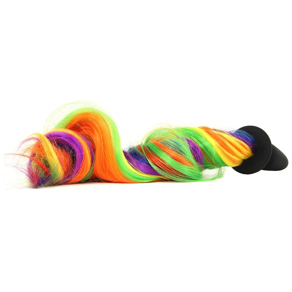 9f20369b4c1 Unicorn Tails Silicone Butt Plug in Rainbow - Canada